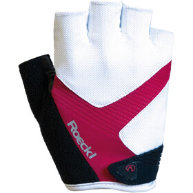 Roeckl Bregenz Gloves white/raspberry
